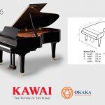 Đàn piano Kawai GX-6 với âm thanh tinh tế và vẻ đẹp lộng lẫy xứng đáng là nhạc cụ thích hợp cho các phòng hòa nhạc lớn nhất hoặc các studio chuyên nghiệp.