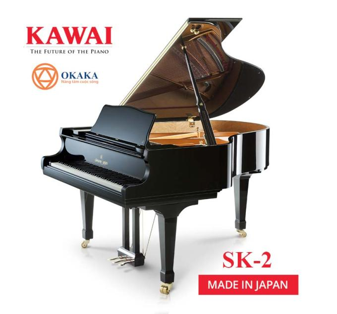 Giống như tất cả các model khác trong dòng SK-series, đàn piano Shigeru Kawai SK-2 có tốc độ và độ phản ứng nhạy của bộ cơ bàn phím Millennium III. Đây là cây đàn lý tưởng cho bất kỳ ngôi nhà hoặc không gian nào đòi hỏi màn trình diễn chất lượng cao của một cây grand piano nhưng lại không thích âm lượng quá lớn của model lớn hơn.