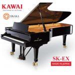 Đàn piano Shigeru Kawai SK-EX là cây grand piano dành cho hòa nhạc cao cấp nhất thế giới. Sức mạnh, tốc độ và khả năng phản ứng cùng với chiều sâu và độ tươi sáng của âm thanh SK-EX cho phép những người chơi giỏi nhất tạo ra những màn trình diễn hay nhất trên sân khấu của một phòng hòa nhạc lớn. Đây thực sự là một nhạc cụ tuyệt vời cả về kiểu dáng và âm thanh gây kinh ngạc cho khán giả.