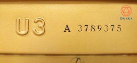 Các chữ cái ký hiệu sau đàn piano Yamaha U3 có ý nghĩa gì?