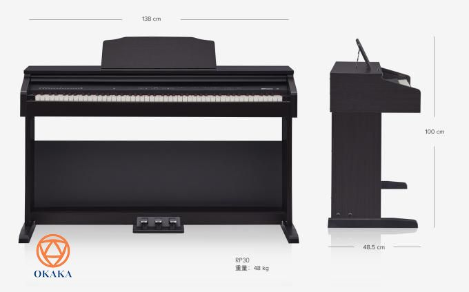 Bạn muốn dìu dắt con bạn những bước đầu tiên trên hành trình học đàn piano nhưng lại thấy khó duy trì sự chú ý của trẻ, đặc biệt là khi bạn đang cạnh tranh với smartphone, game, TV và các thiết bị hiện đại khác? Là model cho người mới học có giá cả phải chăng nhất, đàn piano điện Roland RP-30 là cách dễ dàng để mang âm nhạc vào nhà bạn, bằng việc cung cấp tùy chọn 15 âm thanh có thể điều chỉnh âm lượng, các tính năng thiết thực giúp việc học đàn của trẻ thú vị hơn và tủ gỗ phong cách sẽ trở thành điểm nhấn của gia đình bạn trong nhiều năm tới.