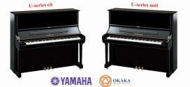 Đàn piano Yamaha U1 – U3 cũ có gì khác Yamaha U1 – U3 mới?