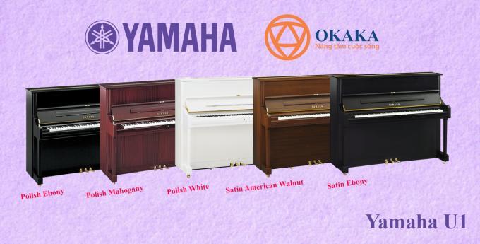 Đặt 2 model dòng U-series của Yamaha lên bàn cân không phải lúc nào cũng là việc dễ dàng. Bài viết này OKAKA sẽ giúp bạn so sánh đàn upright piano Yamaha U1 và Yamaha U3 để bạn có cái nhìn chi tiết, từ đó có quyết định sáng suốt khi mua.