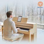 Bất kể bản nhạc bạn chơi là gì, đàn piano điện Roland HP-702 với giá cả phải chăng sẽ mang đến trải nghiệm piano vượt trội hơn nhiều so với bạn nghĩ.