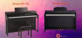 So sánh đàn piano điện Roland HP-702 và HP-601