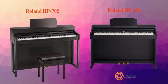 Đàn piano điện Roland HP-702 được xem là model thay thế HP-601 trước đó và hẳn bạn đang tự hỏi model mới này có nâng cấp gì đáng kể không. Đọc bài sau đây