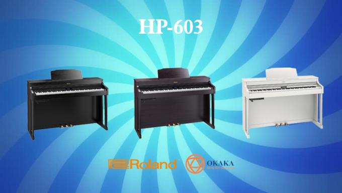 Ngay khi đàn piano điện Roland HP-704 ra mắt, nhiều người thắc mắc không biết có nên nâng cấp model HP-603A đang sở hữu hay không. Bài so sánh tường tận 2..