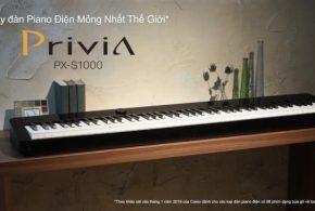 Có gì ấn tượng ở đàn piano điện Casio PX-S3000 và PX-S1000?