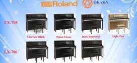 So sánh đàn piano điện Roland LX-706 và LX-705