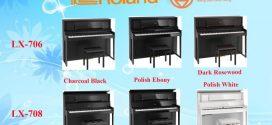 So sánh đàn piano điện Roland LX-708 và LX-706