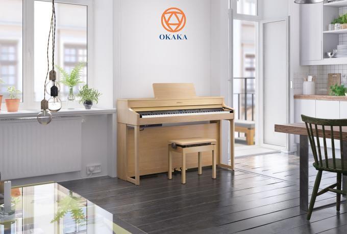 Nếu bạn đang có ý định sở hữu một cây đàn piano điện gia đình giá cả phải chăng nhưng có kiểu dáng thanh lịch và hội tụ nhiều tính năng vượt trội thì đàn piano điện Roland HP-702 mới ra mắt là model bạn không nên bỏ qua.