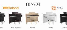 Thông số kỹ thuật đàn piano điện Roland HP-704