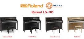 Thông số kỹ thuật đàn piano điện Roland LX-705