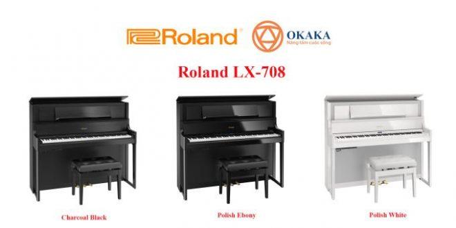 Thông số kỹ thuật đàn piano điện Roland LX-708